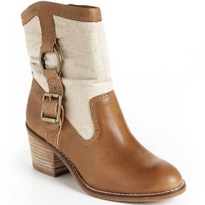 Lucky Brand Shoes - Lucky Brand Boxer Style Booties